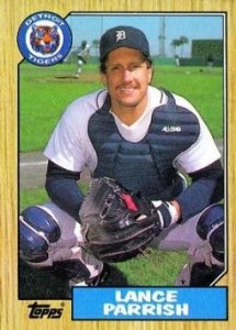 All-Star catcher - Lance Parrish