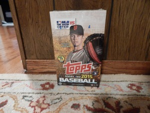 2015 Topps series 2 box