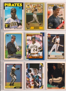 Barry Bonds Topps 1